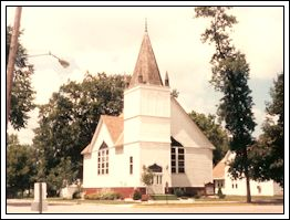 Old methodist Church in Atwater